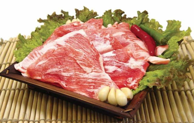 【クール便で無料発送】豚肉 豚トロブロック 5kg★韓国食品*韓国食材★冷凍豚肉★BBQ*焼肉/