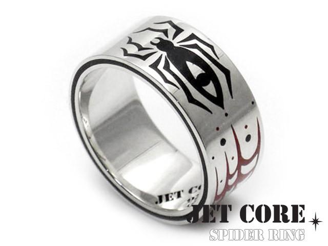 JET CORE (ジェットコア) スパイダーリング シルバー925 アクセサリー ブランド 指輪 メンズ jcr001