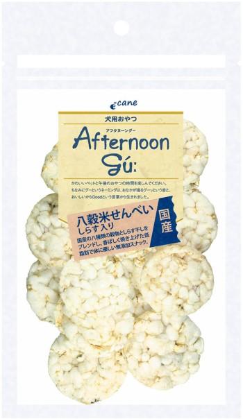【ジャンプ】アフタヌーングー 八穀米せんべいしらす入 20g