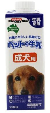 【ドギーマンハヤシ】ペットの牛乳 成犬用 250mlx24個(ケース販売)