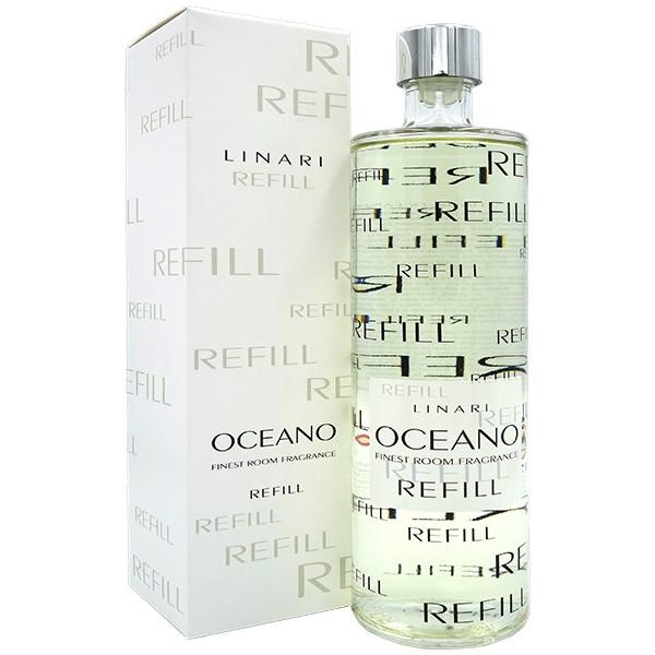 リナーリ LINARI ディフューザー オセアノ リフィル 500ml ナチュラルスティック OCEANO