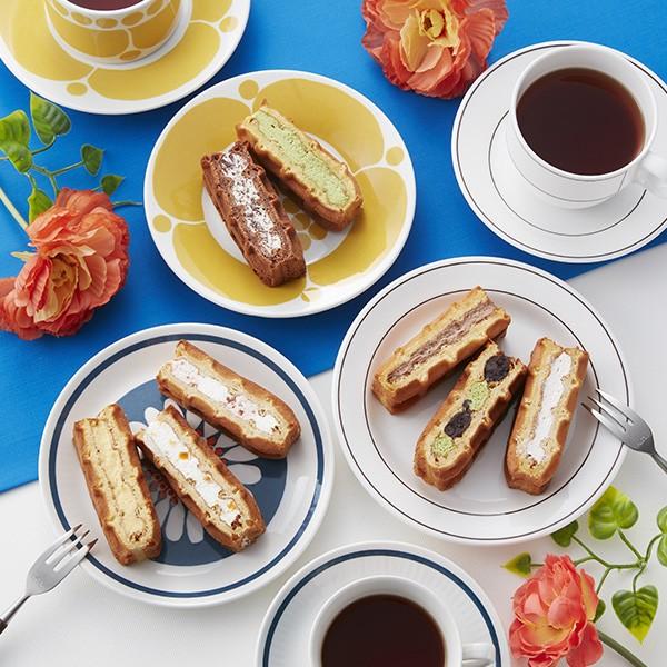 R.L ワッフル ケーキ 8個セット 【 送料込み 】 冷凍 人気 お取り寄せ スイーツ 神戸 ギフト 洋菓子