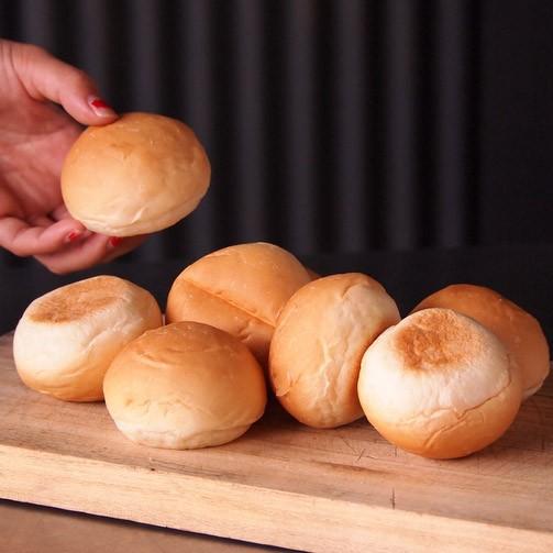 冷凍ミニバンズ(8個)可愛い手のひらサイズの小さいハンバーガーが作れます♪