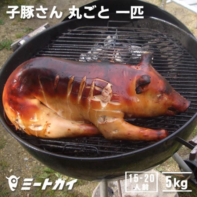【送料無料】仔豚・子豚さん 丸ごと1匹 約5kg(冷凍・生)バーベキューに/記念日に