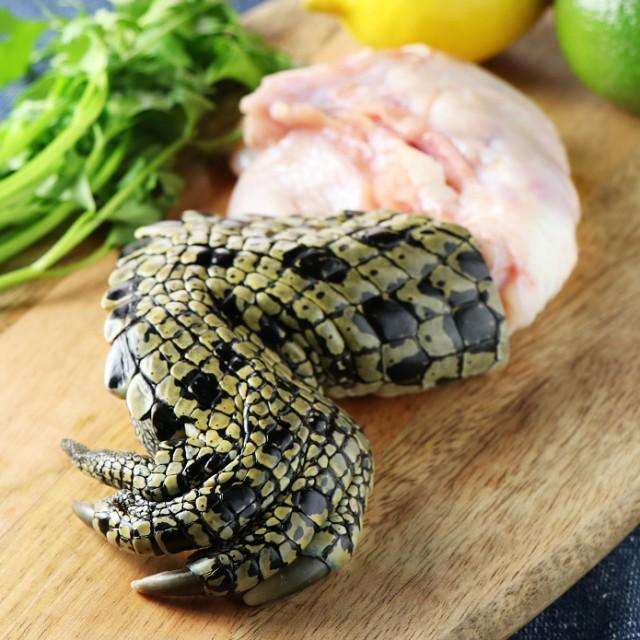 クロコダイルつめ 250g前後 ★BBQサプライズには最適★ ワニ肉 鰐 オーストラリア産