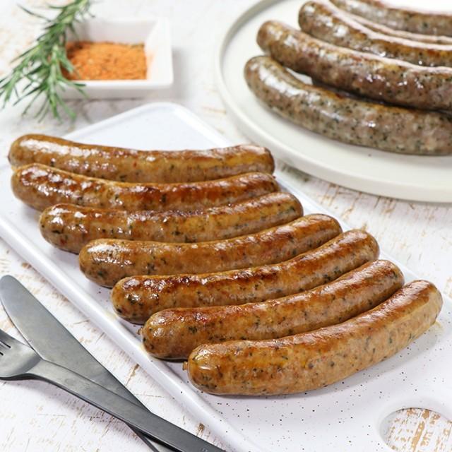 ラム肉 生ラムスパイシーソーセージ 7本 メルゲーズ 100%ラム肉 羊肉 手作り【砂糖不使用】