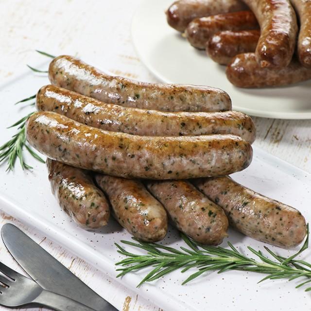 ラム肉 生ラムハーブソーセージ 7本 バーベキュー 100%ラム肉使用【無添加・砂糖不使用】