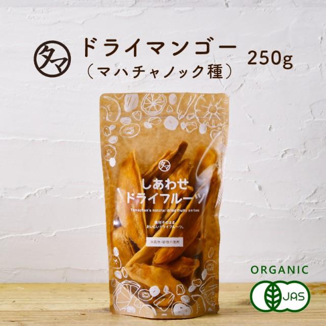 ドライマンゴー(250g/タイ産/無添加)酸味と甘みのバランスが良いマハチャノック種を使用ドライフルーツ 無添加 砂糖不使用 果物 乾燥 ま