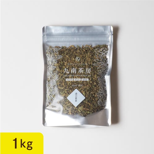 【送料無料】桑の葉茶 1kg 日本(南九州)無添加 毎日の健康維持に!キャベツの約60倍ものカルシウム、カブの約150倍もの鉄分、カロチン