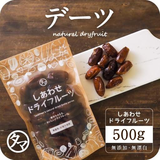 【送料無料】デグレットノアデーツ(なつめやし) 500g(250g×2袋)(アメリカ産) ドライフルーツ 無添加 砂糖不使用 ノンオイル ナツメヤ