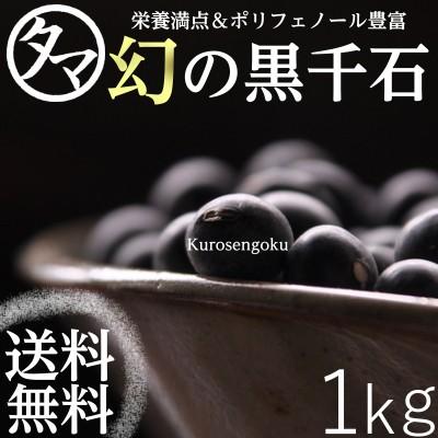 【送料無料】\TVでも話題の幻の黒千石【1kg】/小粒でも栄養がギュッと豊富なスーパー食材ポリフェノールは豆の中でも抜群!
