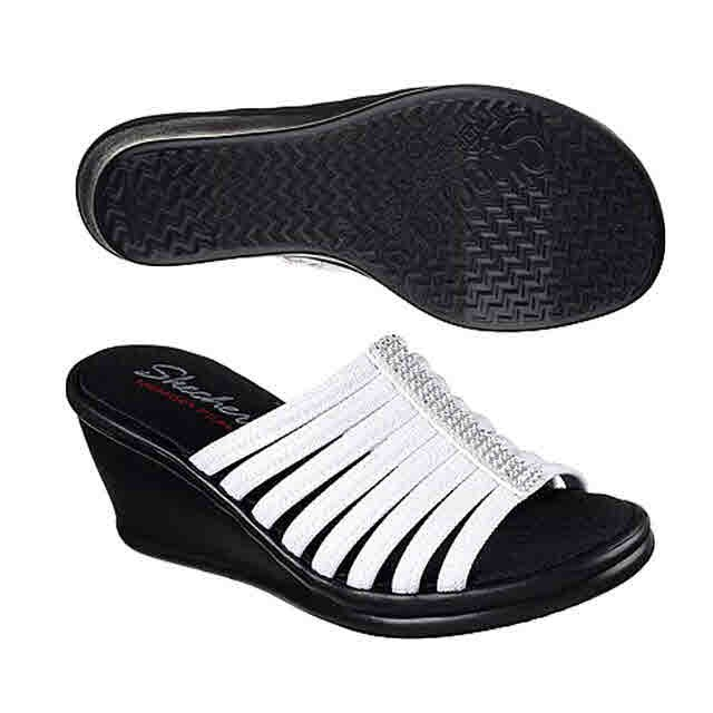 eefd891c2524 Skechers Cali Womens Rumbler Wave-Ibiza Summer Slide 31778 Christmas ...