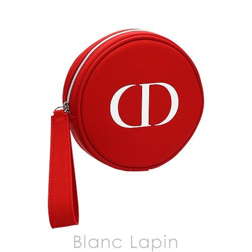 【ノベルティ】 クリスチャンディオール Dior アクセサリーポーチ #レッド [486217]