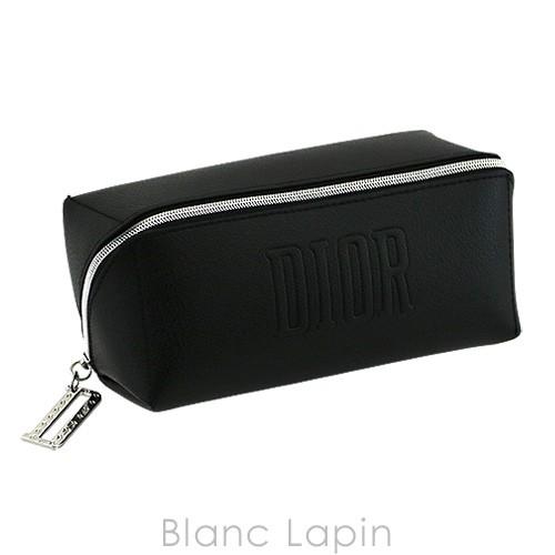 【ノベルティ】 クリスチャンディオール Dior コスメポーチ ワイドオープン #ブラック [073712]