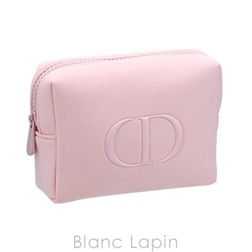 【ノベルティ】 クリスチャンディオール Dior コスメポーチ スクエア #ピンク [417365]