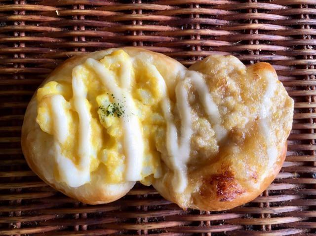 【ツナたま】ツナマヨとたまごサラダをのせて焼き上げた2種の具材の惣菜パン