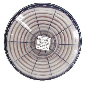 【興研】 防塵マスク用 交換アルファリングフィルタ LAS-52(1181R/1781DW用) (2個/1組) 【粉塵/作業用/医療用】