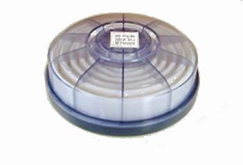 【興研】 防塵マスク用 交換アルファリングフィルタ LAS-1(1121R/1191D用) (2個/1組) 【粉塵/作業用/医療用】