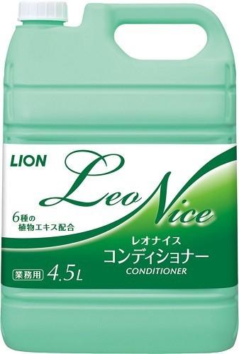 レオナイスコンディショナー4.5L 【業務用】【リンス】【コンディショナー】【ライオンハイジーン】