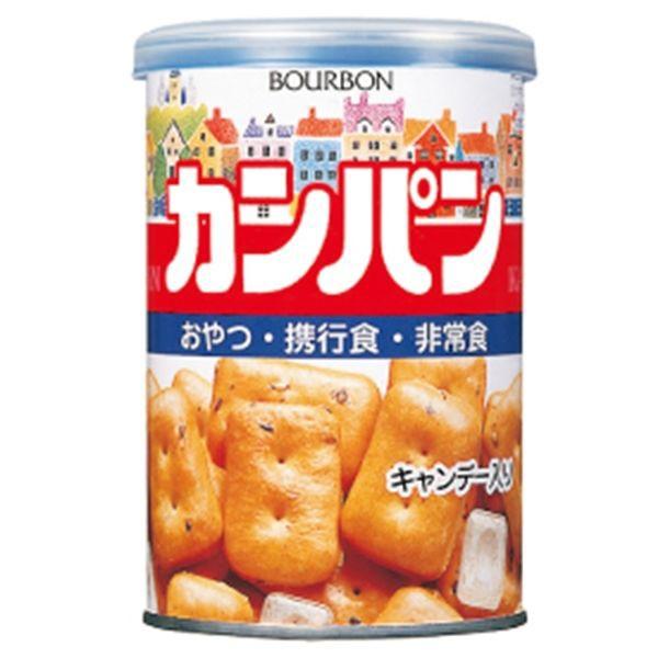 ブルボン 缶入カンパン キャップ付 100g×24缶 (1ケース売り)/ 【送料無料】・沖縄、離島への配送不可、代引き不可