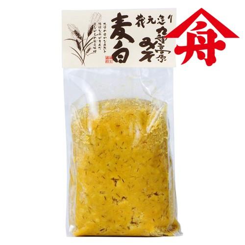 5%還元 【●お取り寄せ】ヤマフネ 九重高原みそ (麦白粒) 1kg 麻生醤油醸造場