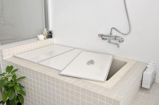 東プレ Ag取手付きアルミ組み合わせ風呂ふた U10 70×100cm用風呂ふた 2枚割_W/W