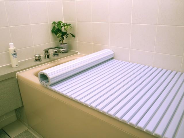 東プレ シャッター風呂ふた L16 75×160cm用風呂ふた ブルー_