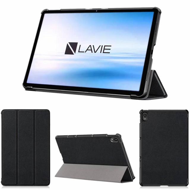 wisers 保護フィルム付き タブレットケース NEC LAVIE T11 T1175/BAS PC-T1175BAS 11インチ 専用 超薄型 スリム ケース カバー