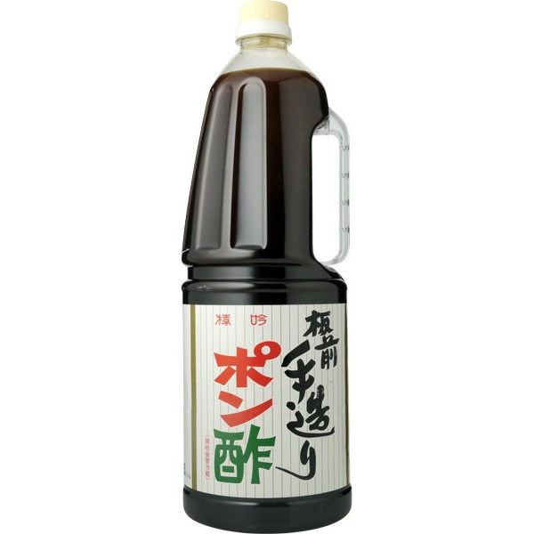 「PETボトルでリニューアル」 板前手造り ポン酢 1800mlペットボトル