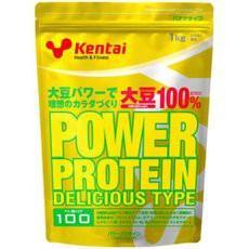 ◆Kentai パワープロテイン デリシャスタイプ バナナ風味 1kg