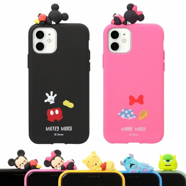 【並行輸入品】 iPhone 11 Pro ケース iPhone 11 ケース Disney フィギュア付きケース (ディズニー) ソフトケース アイフォン カバー シ
