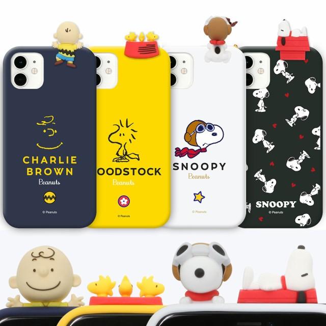 【並行輸入品】 iPhone 11 ケース PEANUTS SNOOPY フィギュア付きケース (ピーナッツスヌーピー) ソフトケース アイフォン カバー シリコ