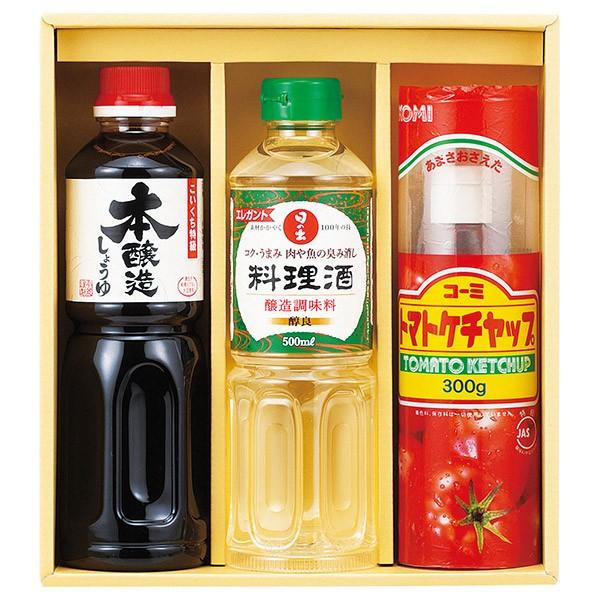 調味料バラエティセット OMK-15 (しょうゆ 醤油 料理酒 ケチャップ 詰め合わせ セット)__tri-P178-011