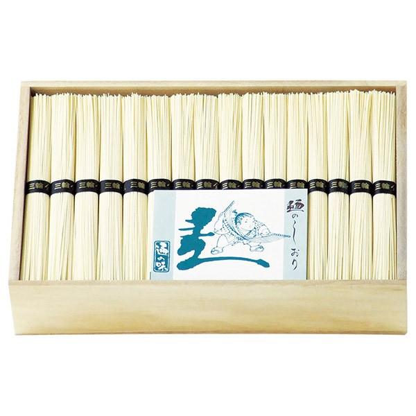 手延べ三輪素麺 古蔵物(レシピ集付き) LHK-100 (64束 そうめん 木箱入り)__tri-P182-118