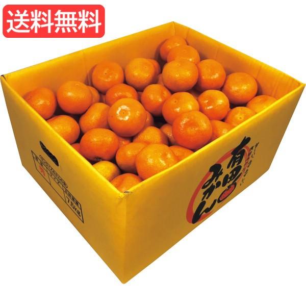 お歳暮 送料無料 和歌山県産 有田みかん(7.5kg) 旬のフルーツギフト 人気 おすすめ [ 産直 ミカン フルーツ 果物 詰合せ ギフ