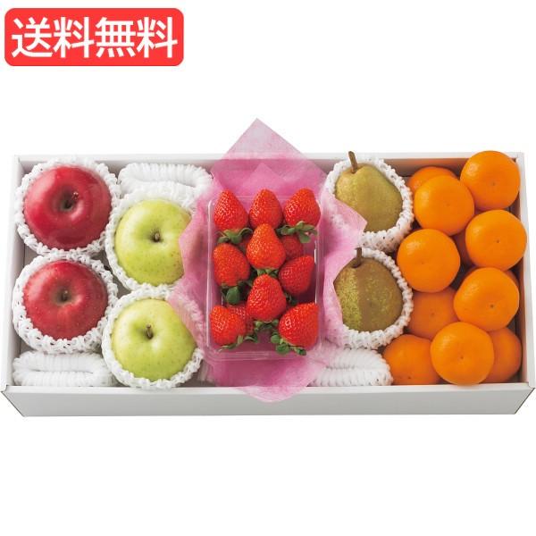 お歳暮 送料無料 冬のいちごと旬の果物詰合せ 旬のフルーツギフト 人気 おすすめ [ 産直 苺 いちご フルーツ 果物 詰合せ ギフト セッ