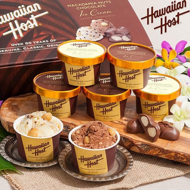 [ お中元 送料無料 ] ハワイアンホースト マカデミアナッツ チョコアイス < 2種 計 7個 >メーカー直送 [ スイーツ ギフト アイ