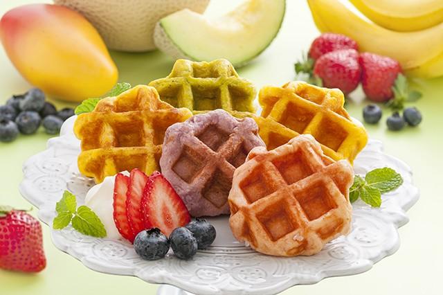[ お中元 送料無料 ] 果実のキモチ フルーツミニワッフル < 5種 計 20個 >メーカー直送 [ スイーツ ギフト ワッフル 焼き菓子