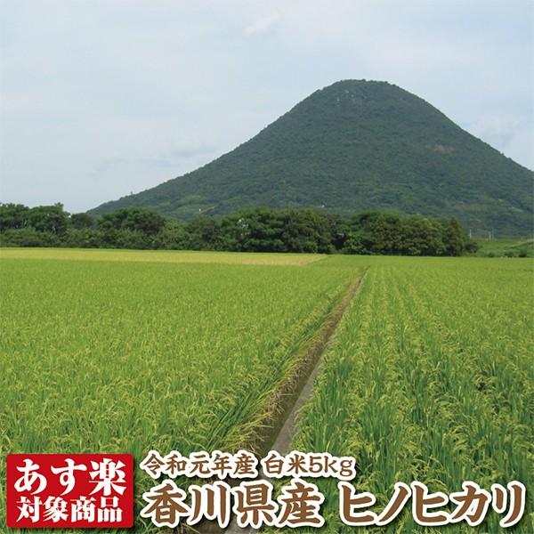 【令和元年産】香川県産ヒノヒカリ白米5kg【ひのひかり】