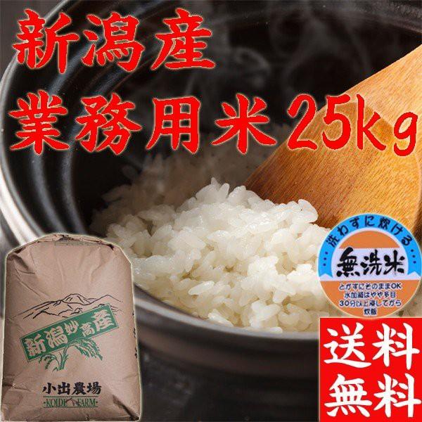 【無洗米 25kg】2019年 新潟県産 訳あり米 送料無料 業務用米25kg【無洗米】《お得米 お米 25kg 安い 25キロ お米激安25kg》
