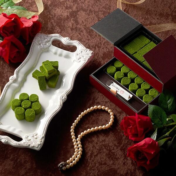 バレンタイン バレンタインデイ バレンタインデー チョコ 宇治抹茶 チョコレート Lecrin(レクラン)§ スイーツ お菓子 ギフト 個包装