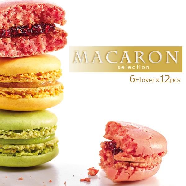 マカロン 冷凍マカロン 6種 12個入 詰め合わせ フランス直輸入 Pasquier/パスキエ [スイーツ/手土産/プチギフト]