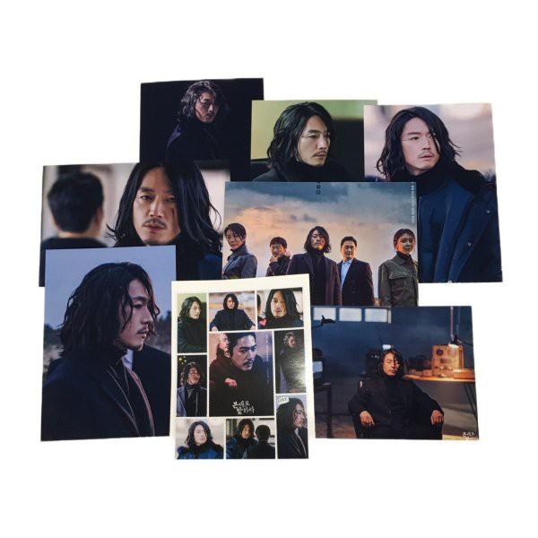 チャンヒョク JANGHYUK 見た通りに話せ ポストカードセット シール付き 韓流 グッズ ar006-1