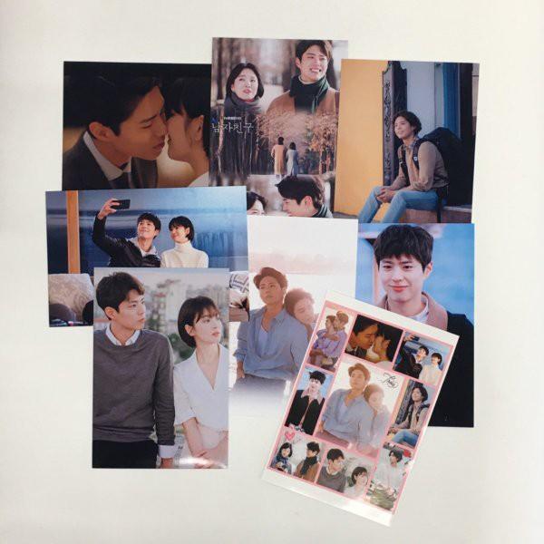 パクボゴム ボーイフレンド ポストカードセット シール付き 韓流 グッズ ar015-2