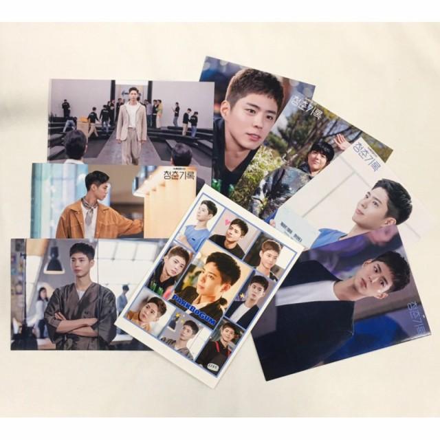 パクボゴム PAEKBOGUM 青春の記録 ポストカードセット シール付き 韓流 グッズ ar015-5