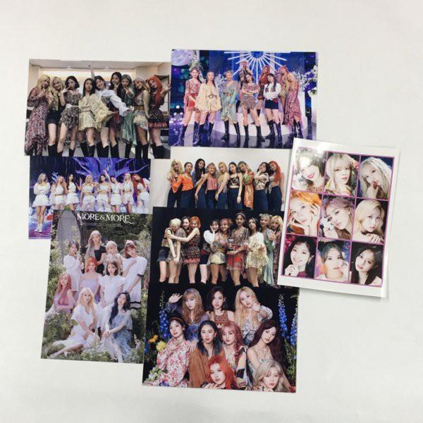 TWICE トゥワイス ポストカードセット シール付き 韓流 グッズ ar019-0