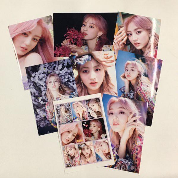 ジヒョ TWICE トゥワイス ポストカードセット シール付き 韓流 グッズ ar019-41