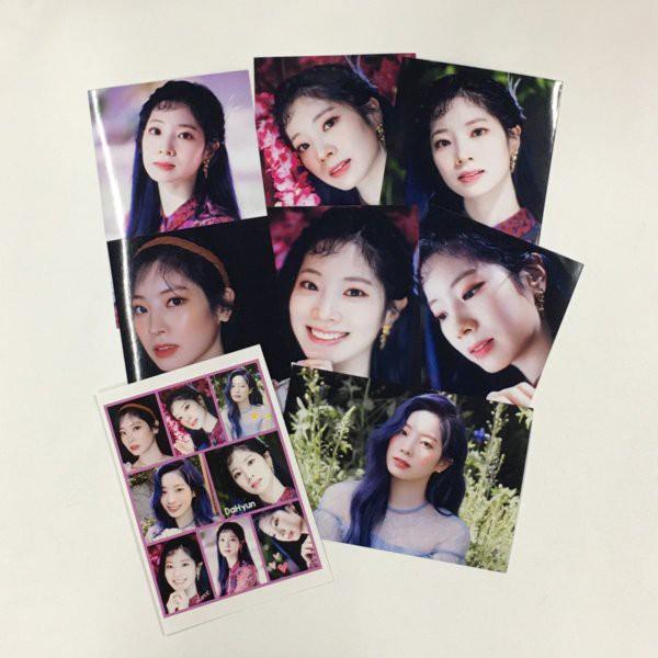 ダヒョン TWICE トゥワイス ポストカードセット シール付き 韓流 グッズ ar019-61
