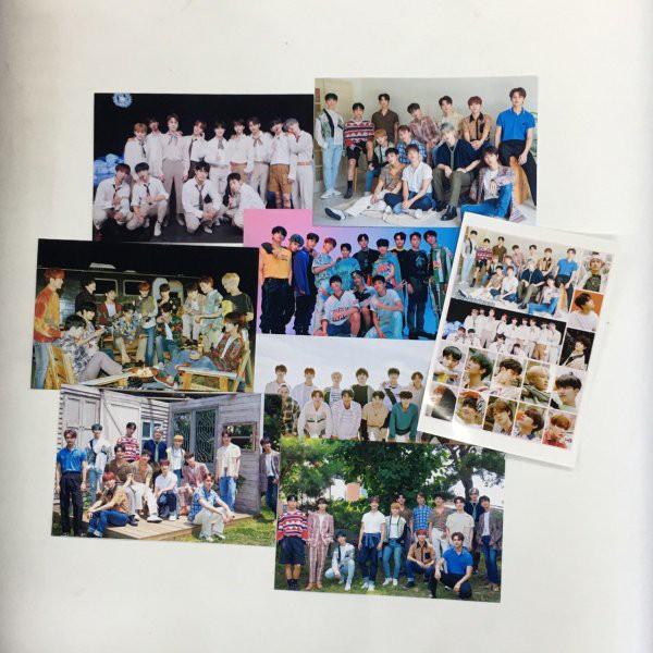 SEVENTEEN セブンティーン セブチ ポストカードセット シール付き 韓流 グッズ ar027-0