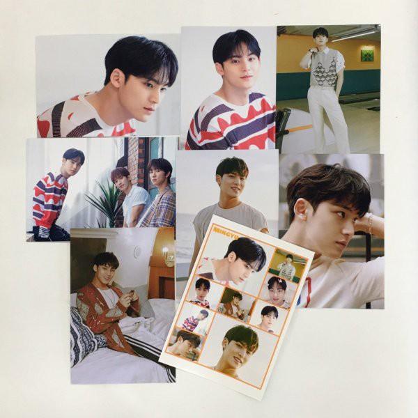 ミンギュ SEVENTEEN セブンティーン セブチ ポストカードセット シール付き 韓流 グッズ ar027-9